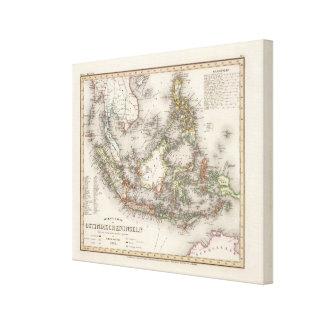 Indonesia, Malaysia Canvas Print