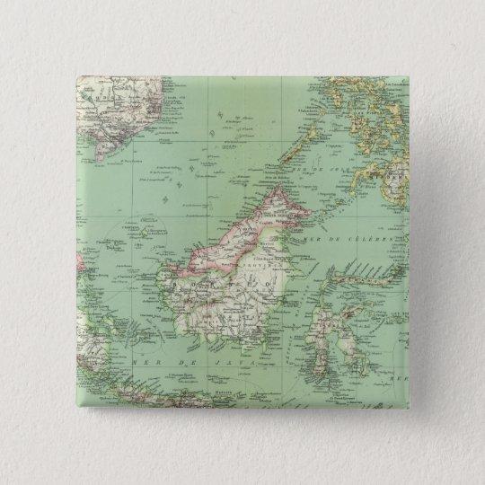Indonesia, Malaysia Pinback Button