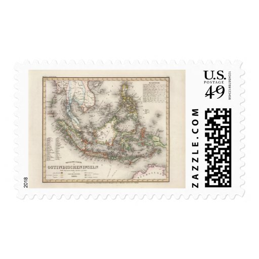 Indonesia, Malaysia Postage Stamp
