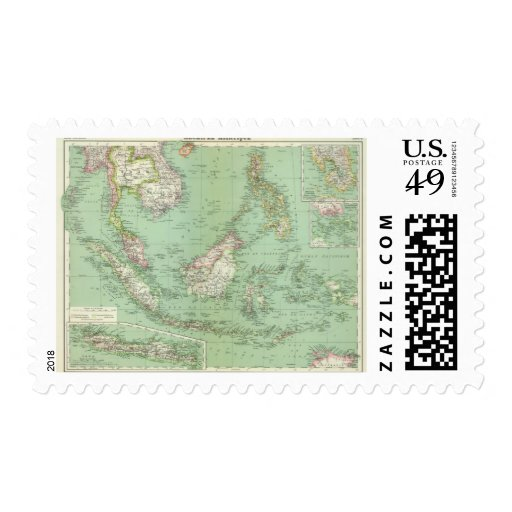 Indonesia, Malaysia Postage Stamps