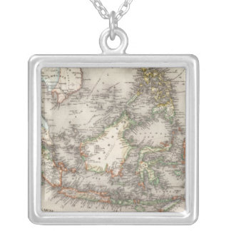 Indonesia, Malaysia Silver Plated Necklace
