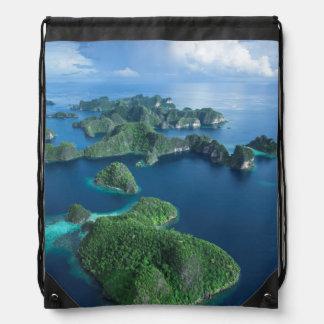 Indonesia, Papua del oeste. Antena del Raja Ampat Mochila