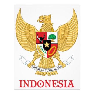 INDONESIA - seal/emblem/blazon/coat of arms/symbol Letterhead