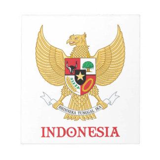 INDONESIA - seal emblem blazon coat of arms symbol Scratch Pad