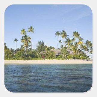 Indonesia, South Sulawesi Province, Wakatobi Square Sticker