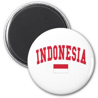 Indonesia Style 2 Inch Round Magnet