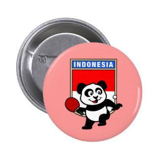Indonesia Table Tennis Panda Pins