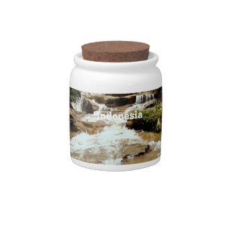 Indonesia Waterfall Candy Dish