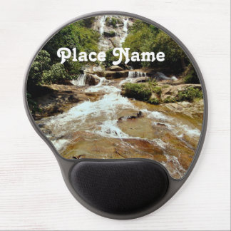 Indonesia Waterfall Gel Mouse Pad