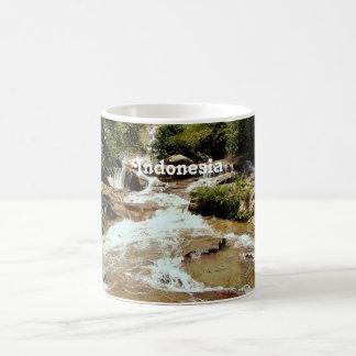Indonesia Waterfall Classic White Coffee Mug