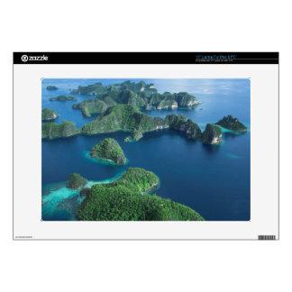 "Indonesia, West Papua. Aerial Of Raja Ampat 15"" Laptop Decal"