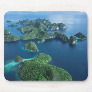 Indonesia, West Papua. Aerial Of Raja Ampat Mouse Pad