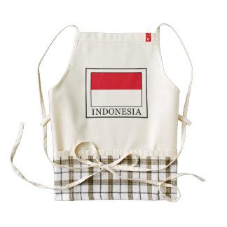 Indonesia Zazzle HEART Apron