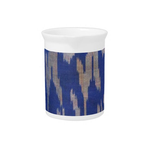 Indonesian  Blue Special Fabric Drink Pitcher