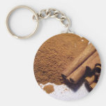 Indonesian cassia line keychains
