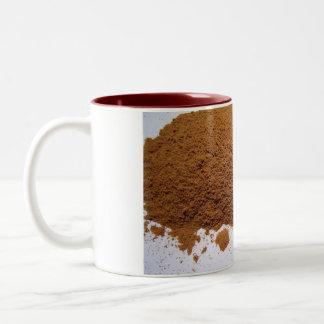 Indonesian cassia line Two-Tone coffee mug