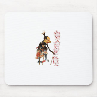 Indonesian cultural products mouse pad