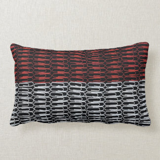 Indonesian Flag of Paperclips Pillows