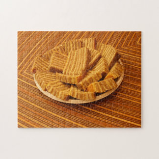 Indonesian ginger cake puzzle