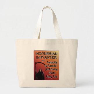 Indonesian Imposter Tote Bag