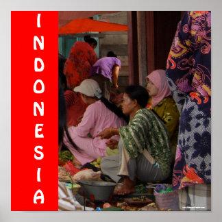 Indonesian Market Print