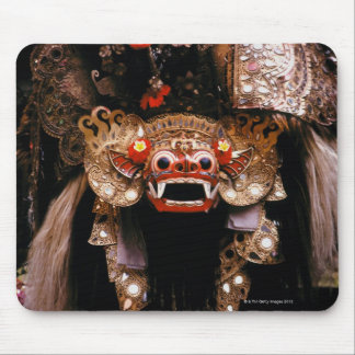 Indonesian mask mouse pad