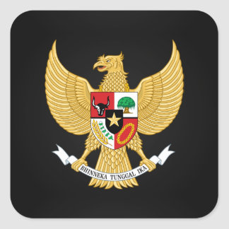 Indonesian national emblem Stickers