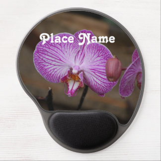 Indonesian Orchids Gel Mouse Pad