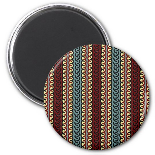 Indonesian textile colors magnet