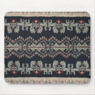 Indonesian Tribal Ikat Textiles Weavings Indonesia Mouse Pad