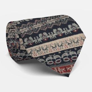 Indonesian Tribal Ikat Textiles Weavings Indonesia Neck Tie