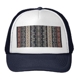 Indonesian Tribal Ikat Textiles Weavings Indonesia Trucker Hat