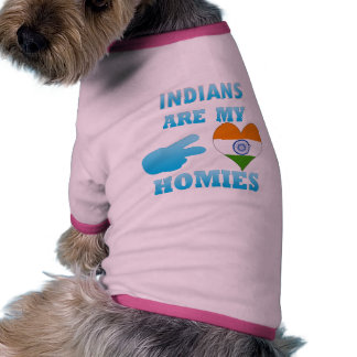Indonesians are my Homies Dog T Shirt