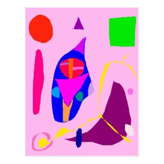 Indoor Abstract Relation Romantic Sweet Liquid Postcard