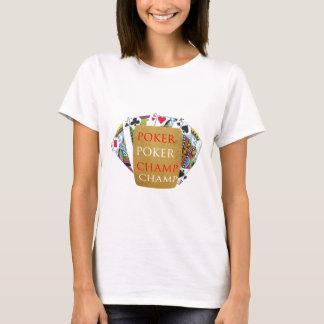 Indoor Games - Poker Champions T-Shirt