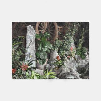 Indoor Garden Fleece Blanket