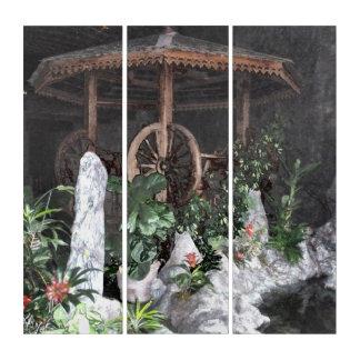 Indoor Garden Triptych