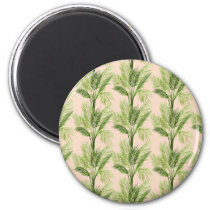 Indoor Oasis | Palm Tree Pattern Magnet