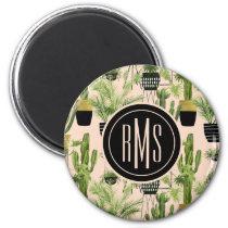 Indoor Oasis | Plant Lineup Pattern Magnet