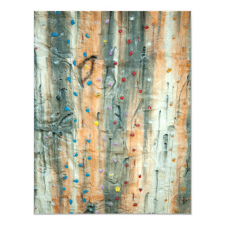 Indoor Rock Climbing Wall Card