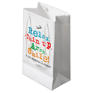 Indoor Skydiving is a Blast! Small Gift Bag