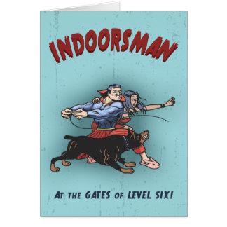 Indoorsman II Tarjeta De Felicitación