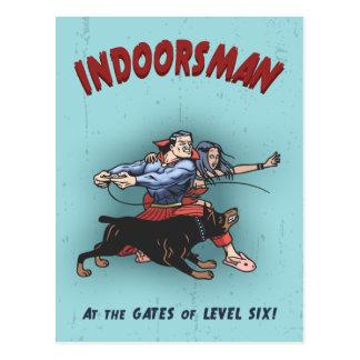 Indoorsman II Tarjeta Postal