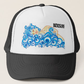 "INDOSURF ""Ocean Gal"" Trucker Hat"