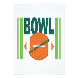 Indpendence Bowl Card