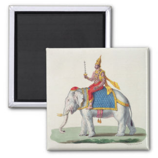 Indra or Devendra, from 'L'Inde francaise...', eng Magnet