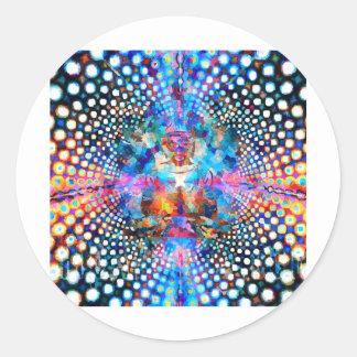 Indra's Net Classic Round Sticker