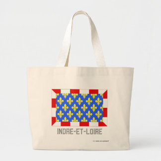 Indre-et-Loire flag with name Bags