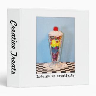 Indulge In Creativity Photography 3 Ring Binder
