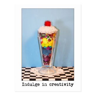 Indulge In Creativity Photography Postcards